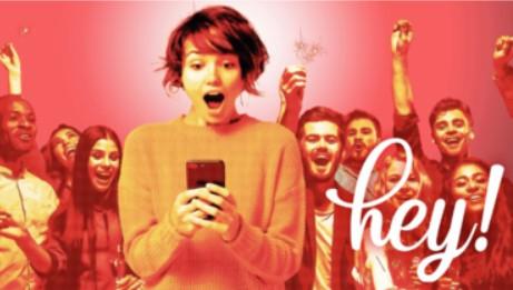 【お知らせ】アンバサダー就任|サプライズ&ソーシャルリターン型コミュニケーションプラットフォーム『heyhey(ヘイヘイ)』